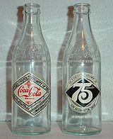 Commemorative Coca Cola bottles