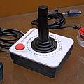 Commodore CX-40-style white and black joystick.jpg