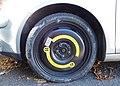 Compact spare wheel, VW Golf.jpg