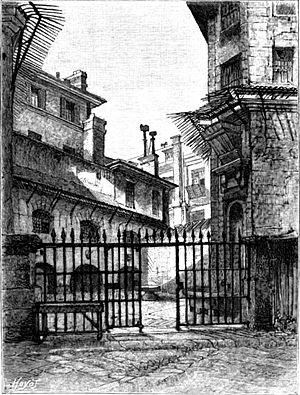 Prisons of the Reign of Terror - La prison de la Conciergerie.