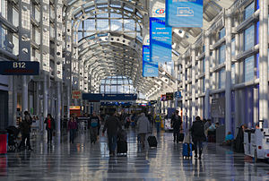 O'Hare International Airport - United Airlines Terminal 1, Concourse B