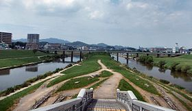 Confluence of Onga and Honami Rivers.jpg