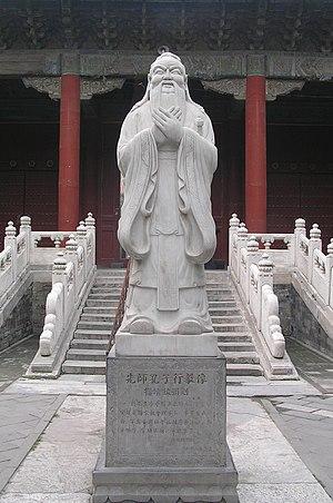 Chinese philosophy - Kong Fuzi (Latin: Confucius)
