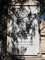 Conrad Schick Headstone - Mount Zion Israel 2.JPG