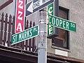 Cooper Square sign05 St Marks Pl Cooper Sq.jpg