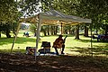 Copped Hall Gardens musician, Epping, Essex, England.jpg