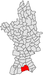 Location in Olt County