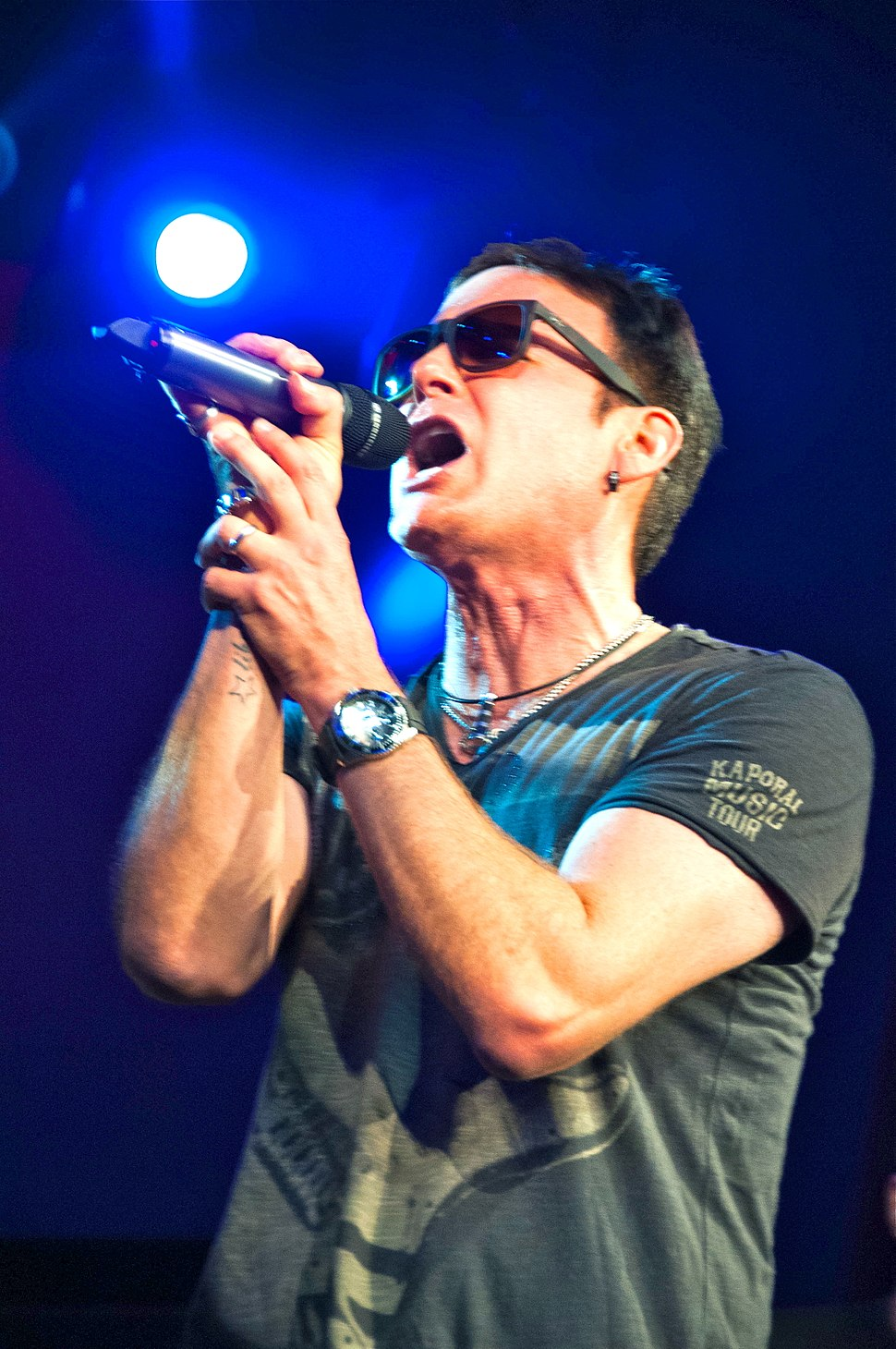 Corey Hart performing in Toronto
