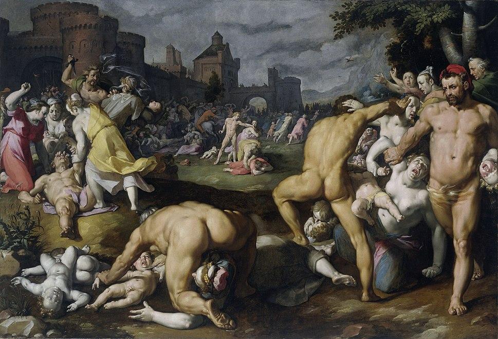 Cornelis van Haarlem - Bethlehemse kindermoord