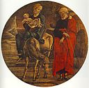 Cosmè Tura - Flight to Egypt (from the predella of the Roverella Polyptych) - WGA23121.jpg