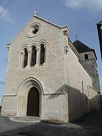 Coulaures église façade ouest.JPG