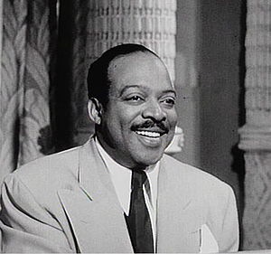 Count Basie - From the 1955 film Rhythm and Blues Revue