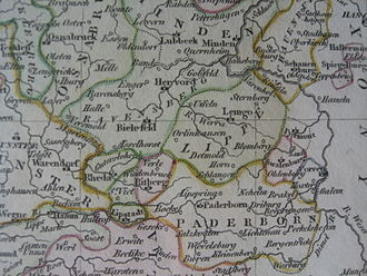 Lippe (district) - County of Lippe, 18th century