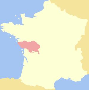 Poitou - Image: County of Poitiers