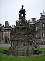 Courtyard Fountain, Palace of Holyrood House - geograph.org.uk - 568978.jpg
