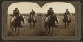 Cowboys on the range--an autumn beef roundup, Montana, U.S.A, by Keystone View Company.png