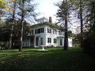 Cox–Budlong House - Image: Cox Budlong House Wheatland New York