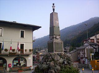 Crissolo Comune in Piedmont, Italy