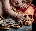 Cristo niño durmiendo, vanitas - Giovanni Battista Morelli 04.jpg
