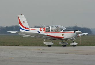 Croatian Air Force and Air Defence - Zlin 242 trainer