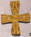 Crocetta d'oro longobarda, da varese, VI-VIII sec..JPG