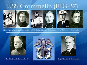 USS Crommelin (FFG-37) - The Crommelin brothers.