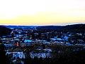 Cross Plains at Dusk on 12-12-12 - panoramio.jpg