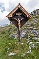 Cross by Roblekov dom, Karawanks, Slovenia.jpg