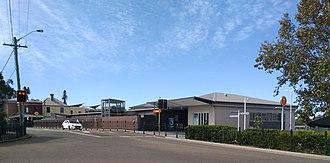 Croydon railway station, Sydney - Image: Croydon railway station 20180415 03