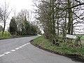 Crutch Lane From Ford Lane - geograph.org.uk - 1768280.jpg
