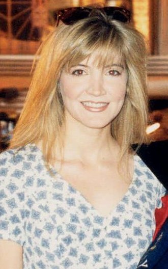 Crystal Bernard - Bernard at the 1994 Emmy rehearsal