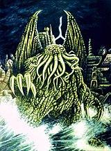 Ктулху, иллюстрация к книге