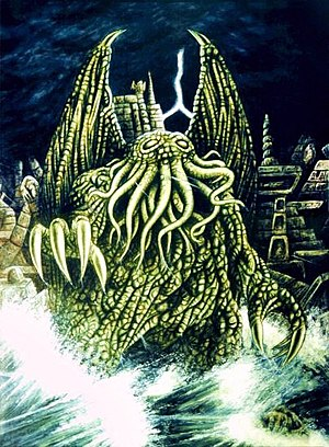 Cthulhu - A 2006 artist depiction of Cthulu.