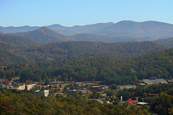 Cullowhee, the Valley of the Lilies