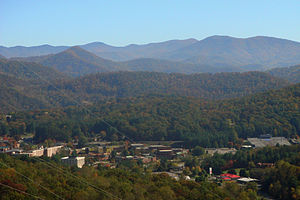 Cullowhee, North Carolina - Cullowhee, The Valley of the Lilies