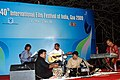 Cultural events during the 40th International Film Festival (IFFI-2009), at Panaji, Goa on November 28, 2009.jpg