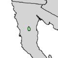 Cupressus montana range map 3.png