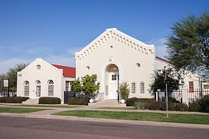 Temple Beth Israel (Phoenix) - A 2013 view of the restoration