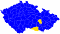 Czech parliament elections 1992 - districts winners map.png