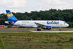D-AICF Condor Airbus A320-212 @ Frankfurt (EDDF) - 27.08.2014 (16707805714).jpg