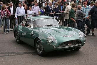 Ercole Spada - Aston Martin DB4 GT Zagato, designed by Ercole Spada while at Zagato