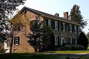 Henderson, New York - Norton–Burnham House, the birthplace of Daniel Burnham in Henderson, New York