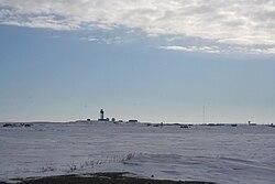 DEW line radar station at Tuktoyaktuk.jpg