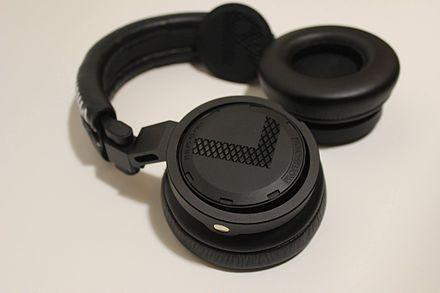 The Philips A5-PRO headphones DJ headphones by Philips A5-PRO.jpg