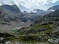 Dachstein with Unterer Eissee, Taubenkogel und Hallstätter Gletscher.jpg