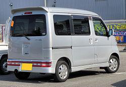Daihatsu Atrai Wagon RS 330G Rear 0274.JPG
