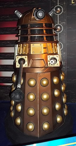 A Dalek at the Doctor Who Experience, Cardiff Dalek (10634451635).jpg