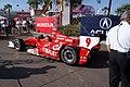 Dallara-Honda DW12 Ganassi-Target Racing Scott Dixon TowedToPractice 01 SPGP 24March2012 (14699426582).jpg
