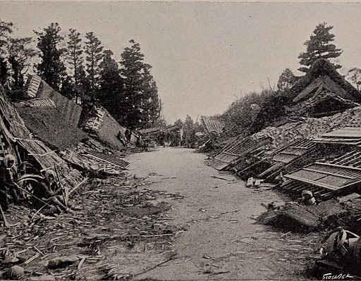 Damages 1891 Mino-Owari earthquake
