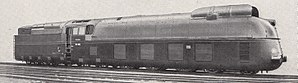 Streamliner - DRG Class 05 locomotive of the type that held the world top speed record 1936-1938